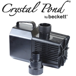 Beckett 2100 gph Waterfall Pump with Auto-Shutoff