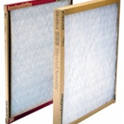 15X30X1 Standard Efficiency Air Filters - One Side Retainer (Box of 12)