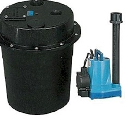 Little Giant WRS-5 , 1/3 HP, Submersible Utility Pump & Tank
